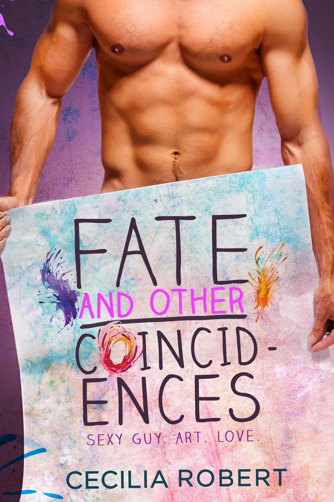 Cover Reveal! Fate and Other Coincidences by Cecilia Robert