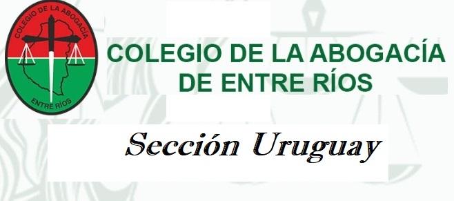 Colegio de la Abogacía de Entre Ríos Sección Uruguay