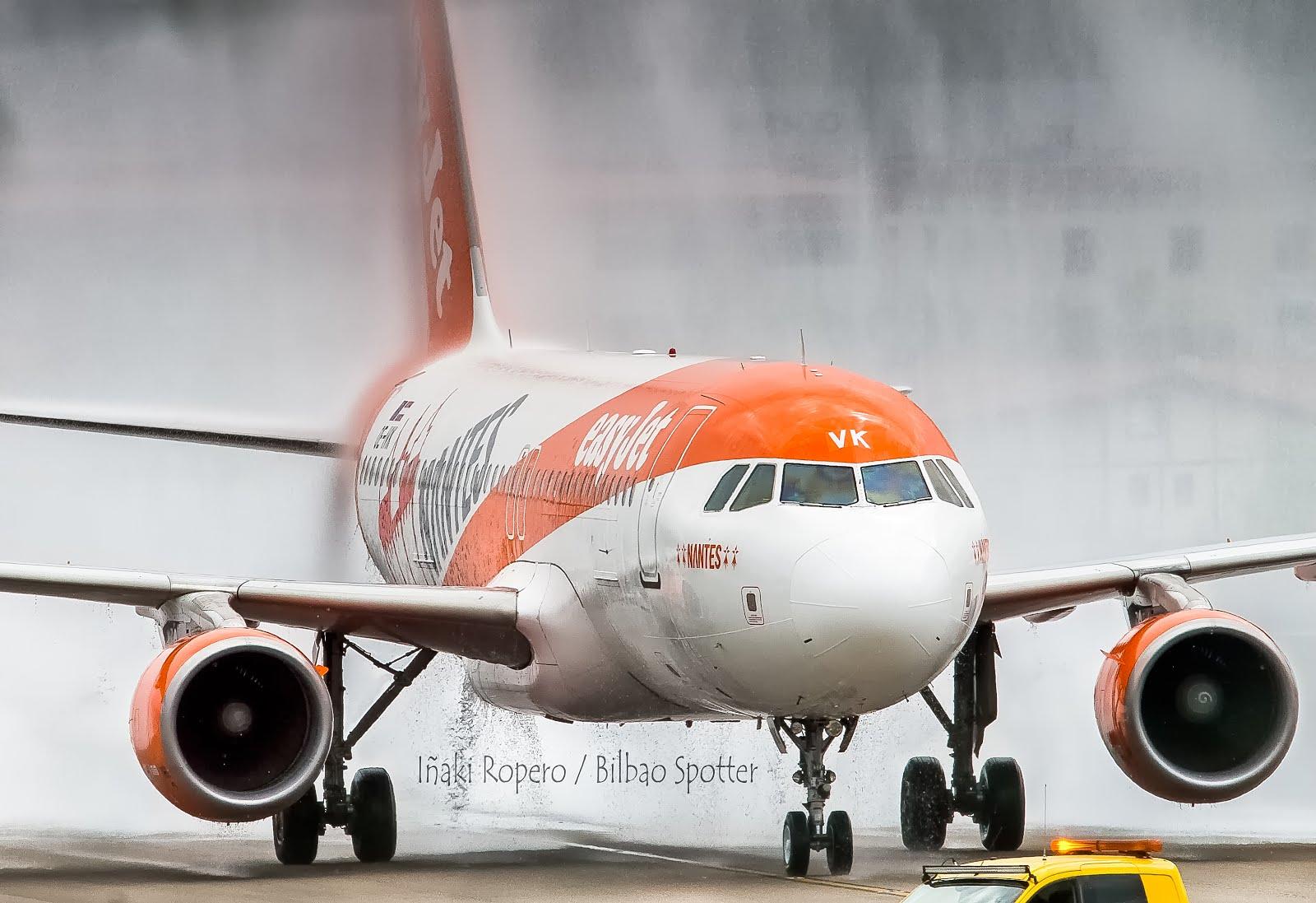 EasyJet Europe estrena su nueva ruta desde Bilbao; Nantes