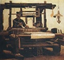 Tecelão ao tear - 1884