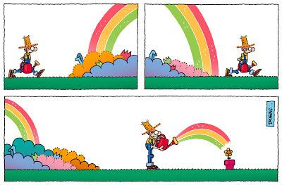 Agua de arcoiris