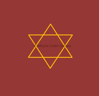 1 Navagraha Kolam | Guru Bhagavan | Thursday