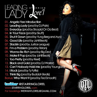 News // Lore'L – Leading Lady