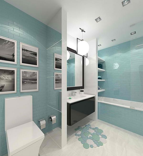 tips desain warna interior kamar mandi rumah idaman