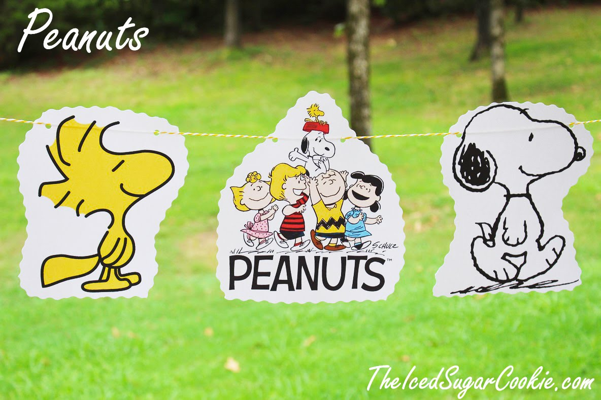 Peanuts Snoopy Banner