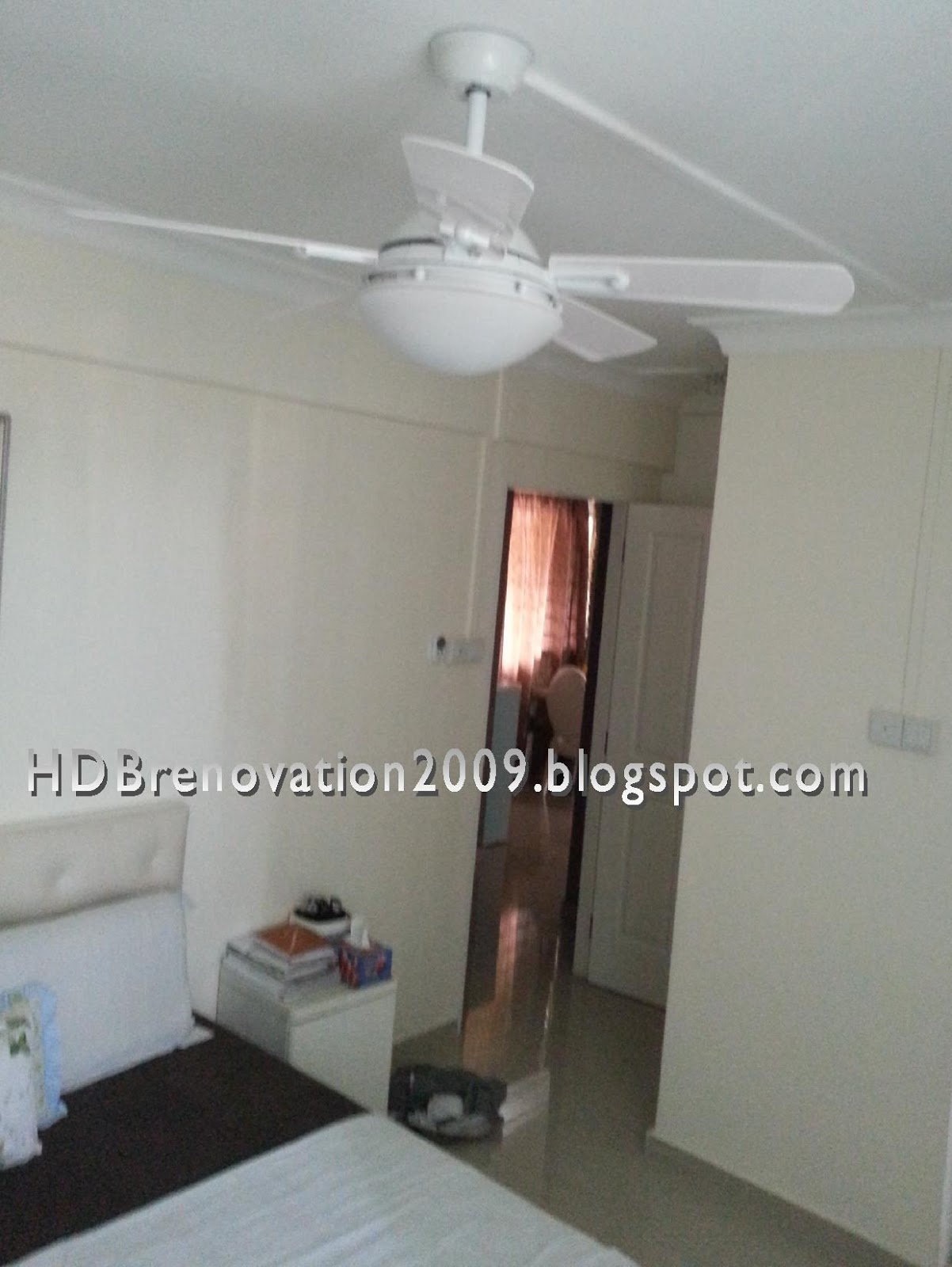 Our HDB Flat Renovation in 2009 Ceiling Fan parison Chart
