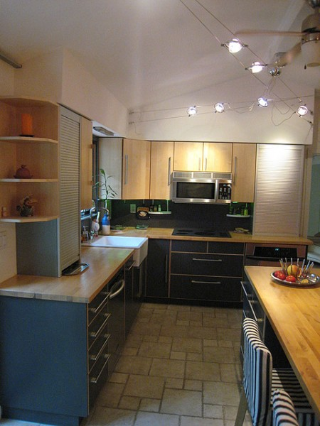 Black Kitchen Accessories and Lighting  Home Interior Designs and