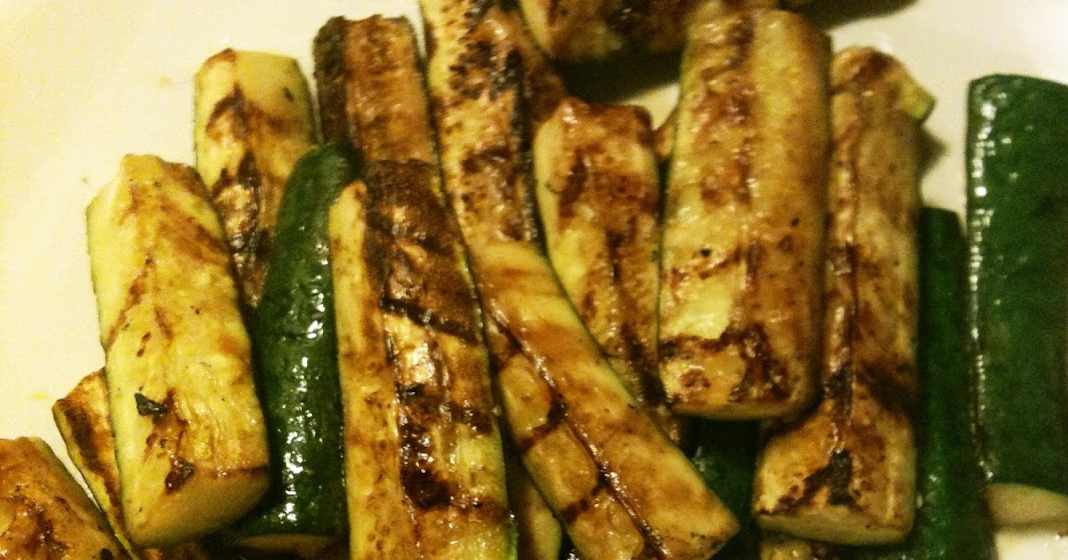 how to cut zucchini for grilling