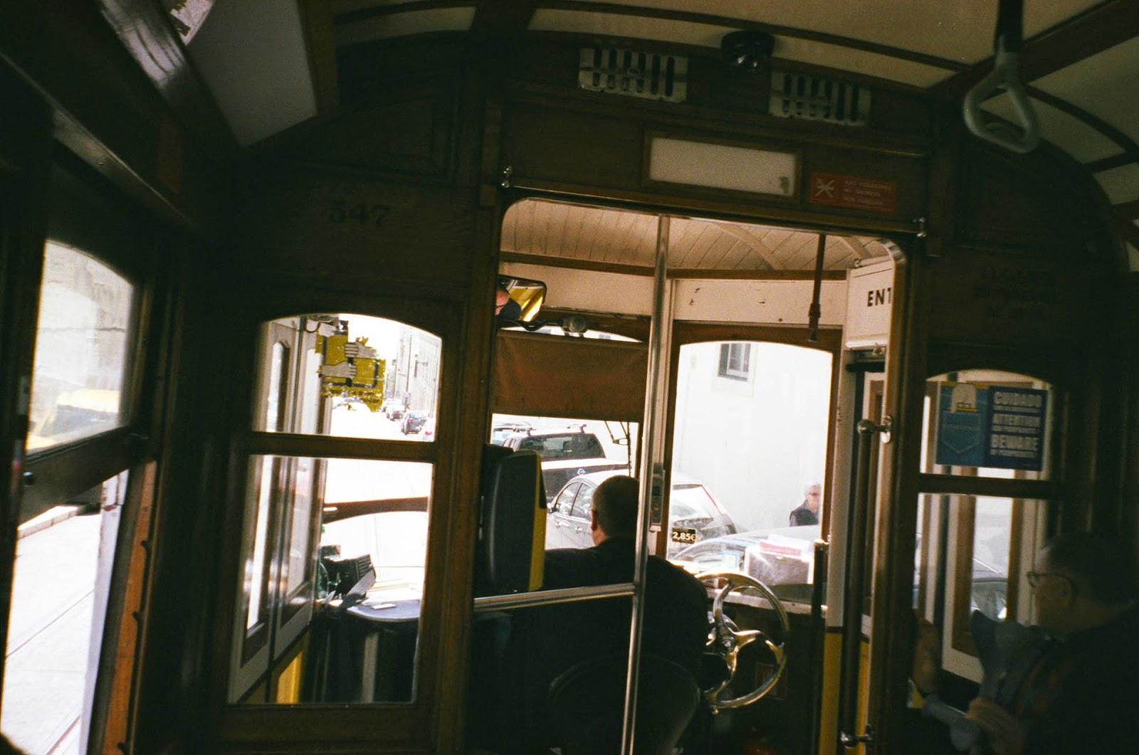 Tram Lisbon Lisboa Portugal