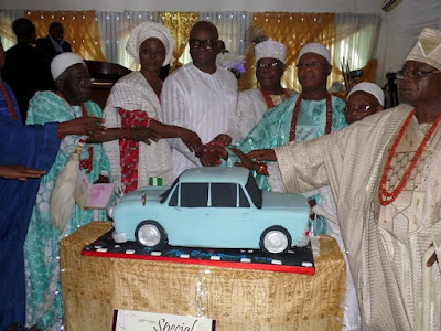 ayo fayose birthday with obas