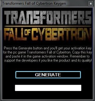 transformers war for cybertron-reloaded key code