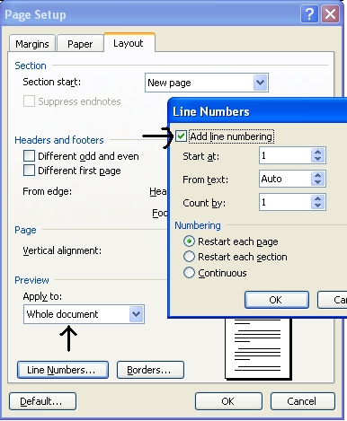 how to add number subscripts on word