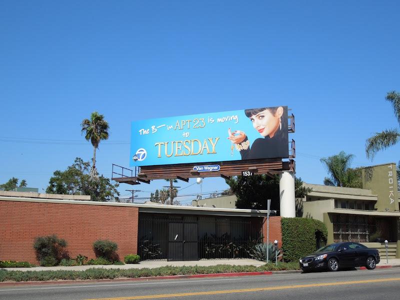 Dont Trust the B in Apt 23 season 2 billboard