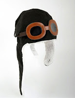 Kids Pilot Aviator Helmet Hat