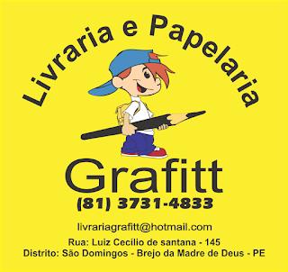 Livraria e pepelaria grafitt