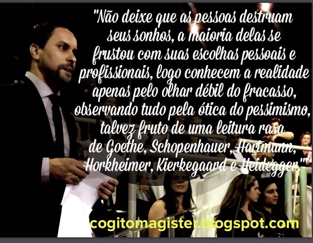 Mensagem do Prof. Leandro Rocha