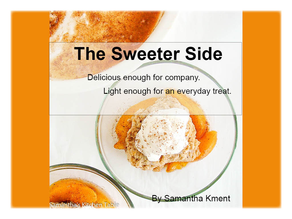 The Sweeter Side eCookbook