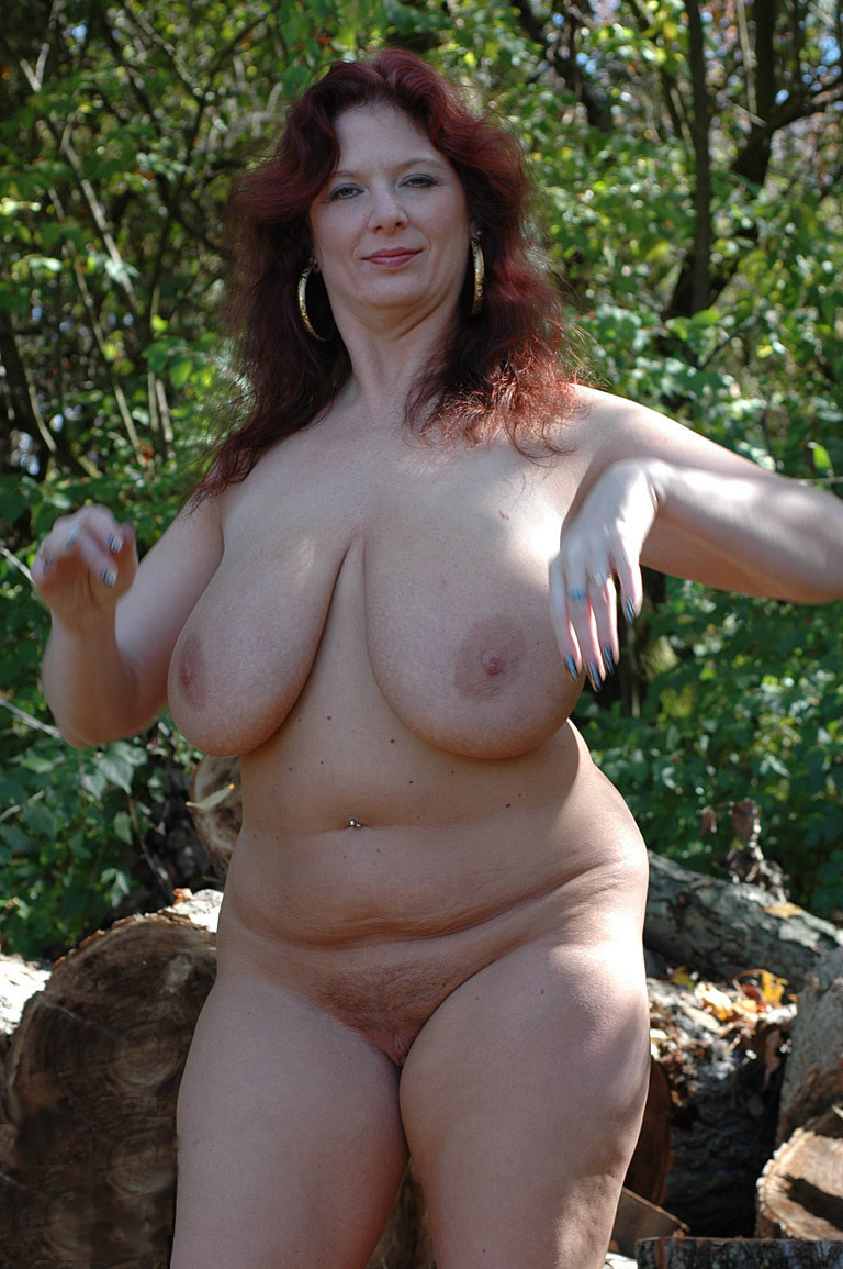 Big chubby tit woman