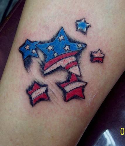 american flag tattoos - photo #36