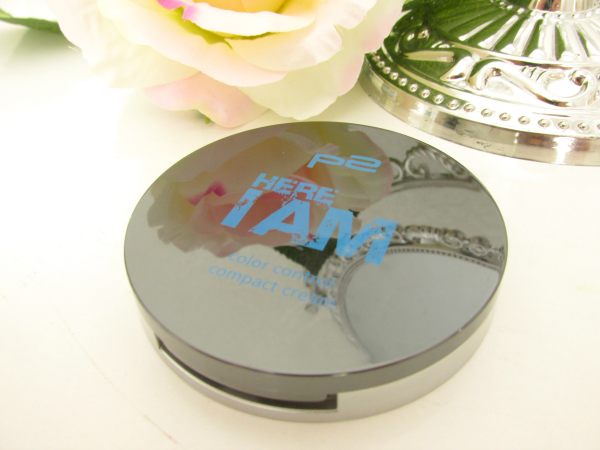 p2 Here I am - Color Control Compact Cream - 020 Tanned