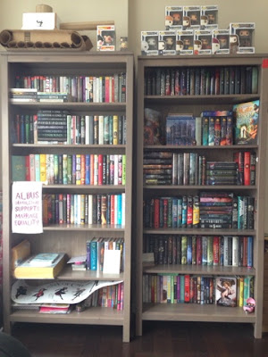 Eileen's bookshelves
