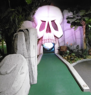 Photo of The Lost City Adventure Golf course in Nottingham