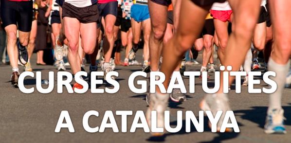 Curses gratuïtes a Catalunya