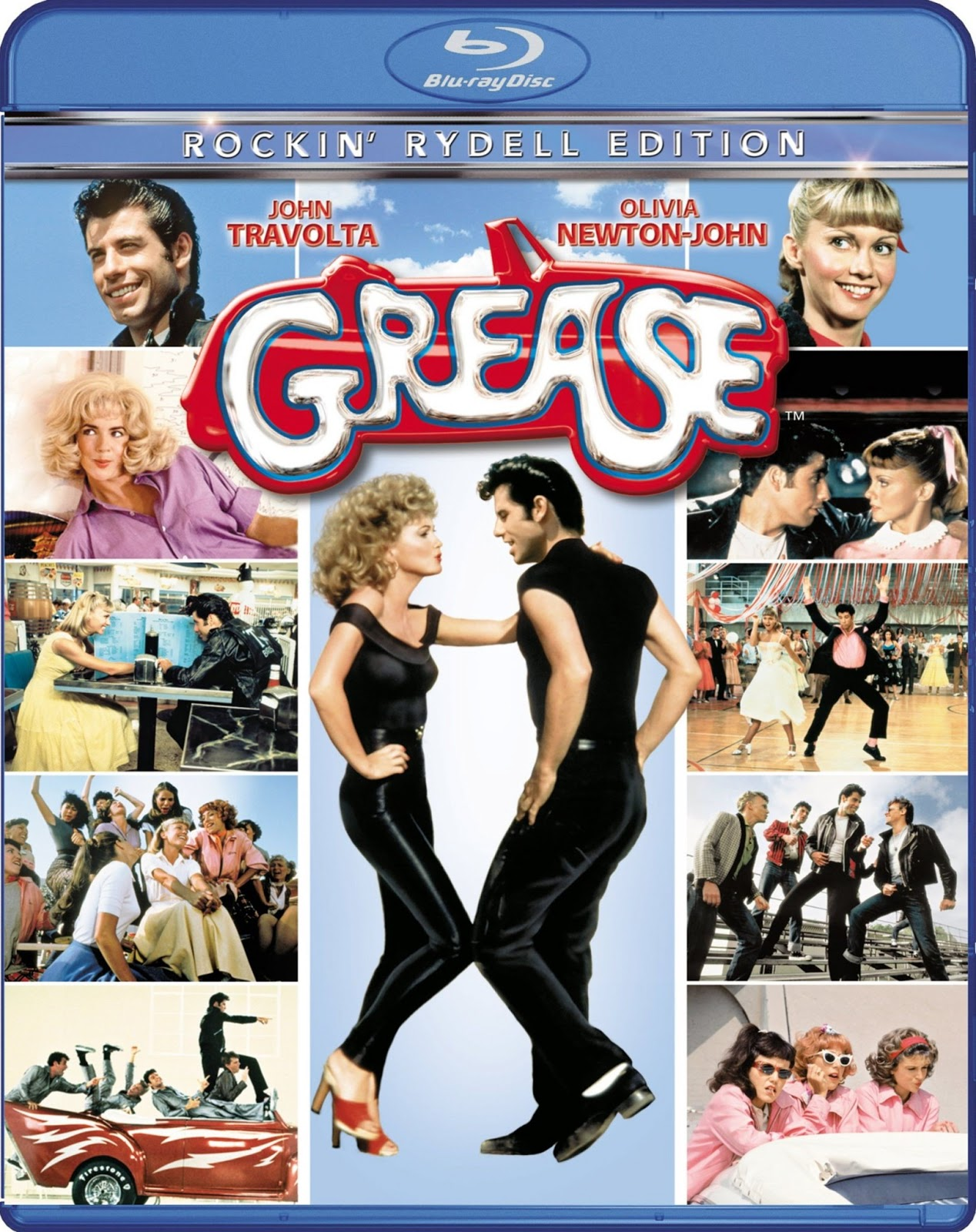 Vaselina [Grease] [1978] [BrRip 1080p Mkv] [Dual Latino-Ingles] [MG]