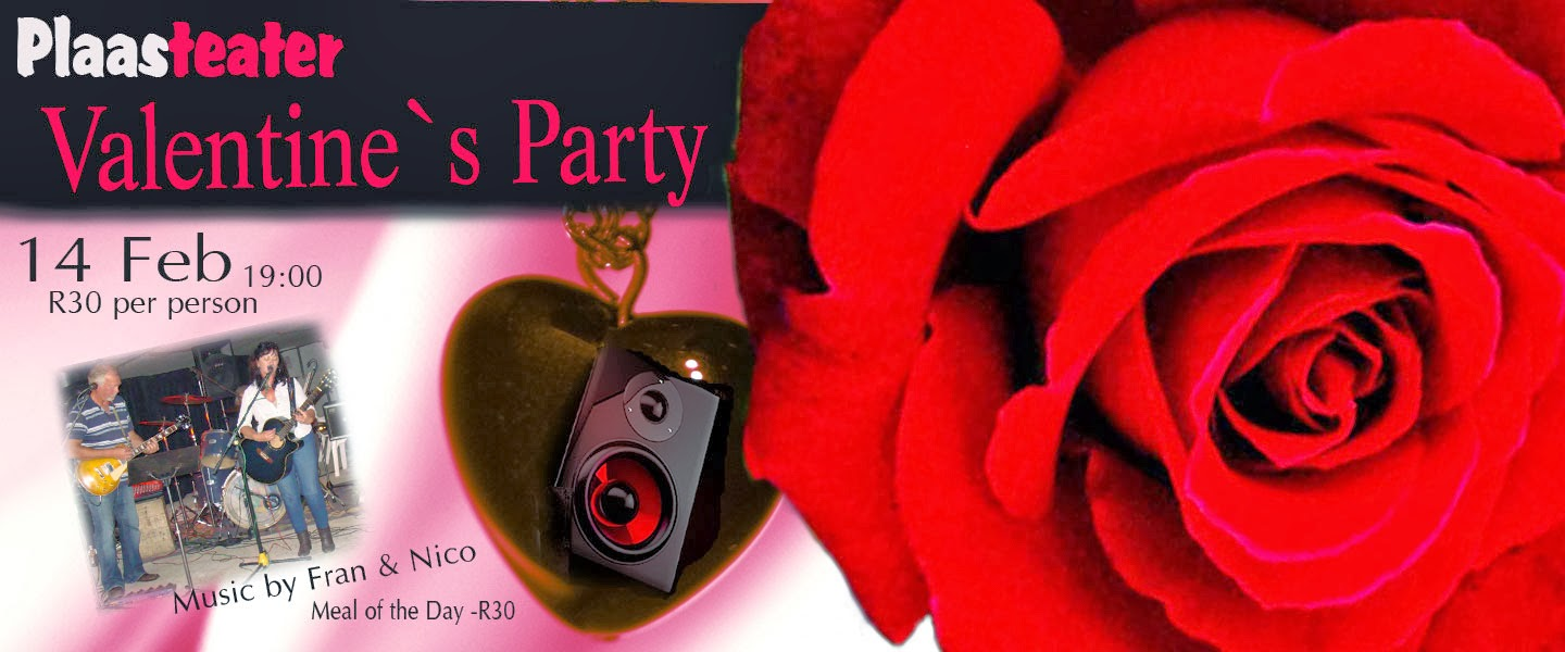Valentine's Party at Plaasteater - Facebook Event