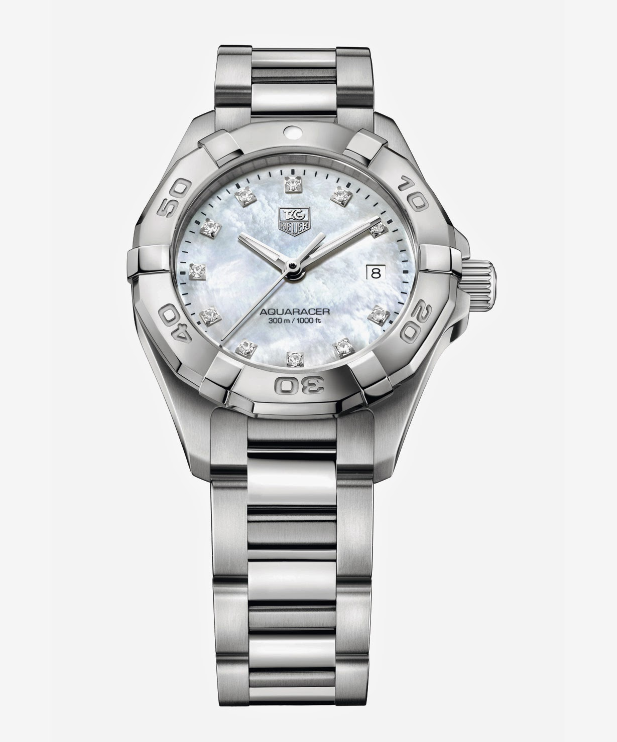 Tag heuer aquaracer lady 2014 time and watches for The tag heuer aquaracer
