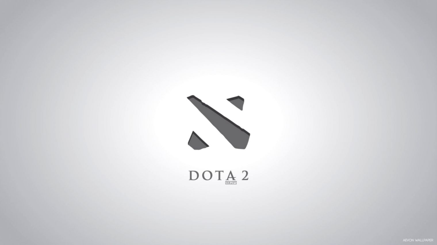 View Original Size Grey Wallpaper Dota 2 Logo Best HD Wallpapers Image Source From This