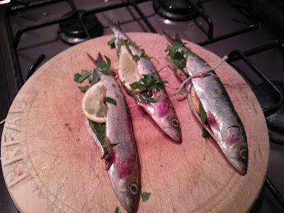 Filleted Sardines