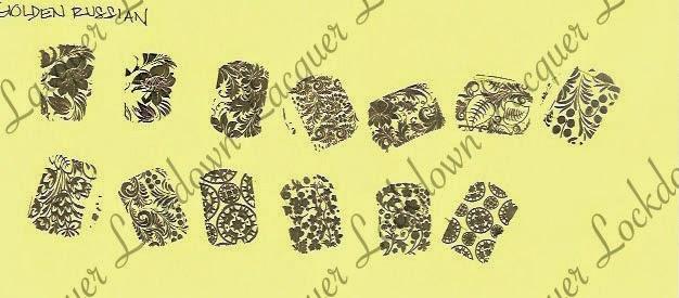 Lacquer Lockdown - Petla Plate, Pet'la Plate, nail art stamping plates, nail art stamping blog, petla plate review, nail art stamping plate review, nail art, diy nail art, stamping
