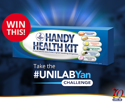 Take the #UnilabYan Challenge and win a limited edition Unilab Handy Health Kit!