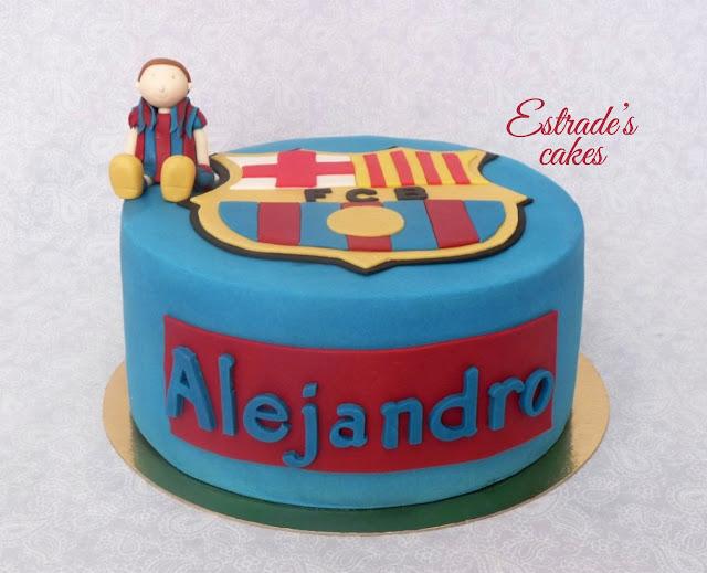 tarta del Barcelona 3