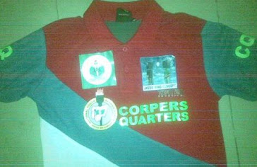 order for your CORPERS QUARTERS shirt and give a fellow corps member an xmas gift never forgotten..