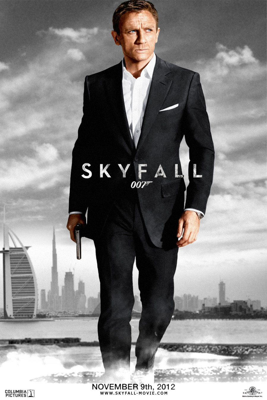 skyfall 007 movie flicker. Black Bedroom Furniture Sets. Home Design Ideas