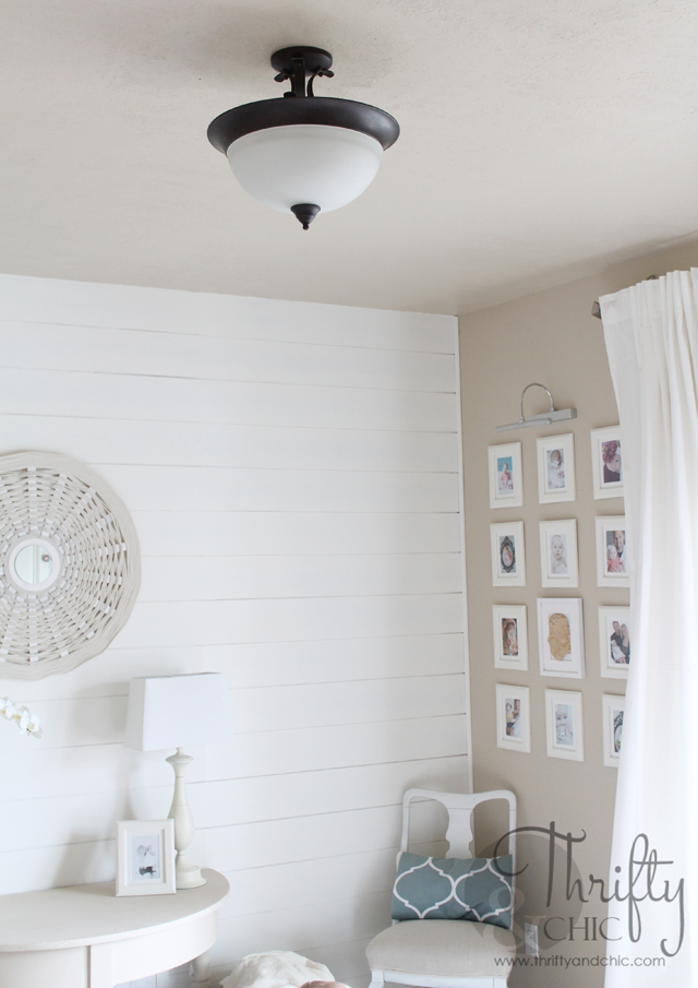 DIY large lamp shade for hanging boob lights