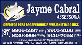 JAIME CABRAL - EMPRÉSTIMO PARA APOSENTADOS E PENSIONISTAS DO INSS