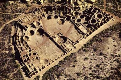 Centro Habitacional en Pueblo Bonito, Valle del Chaco Arizona