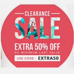 Jabong : Clothings, Footwears & Accessories upto 73% off + 50% off no minimum purchase from Rs. 59