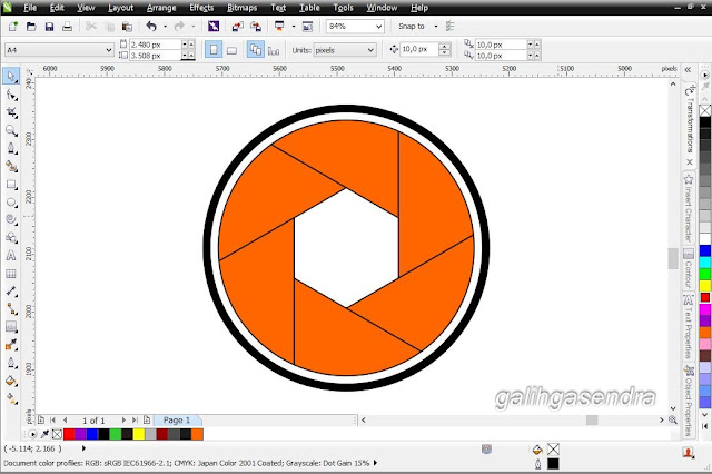 how to delete overlapping lines in coreldraw