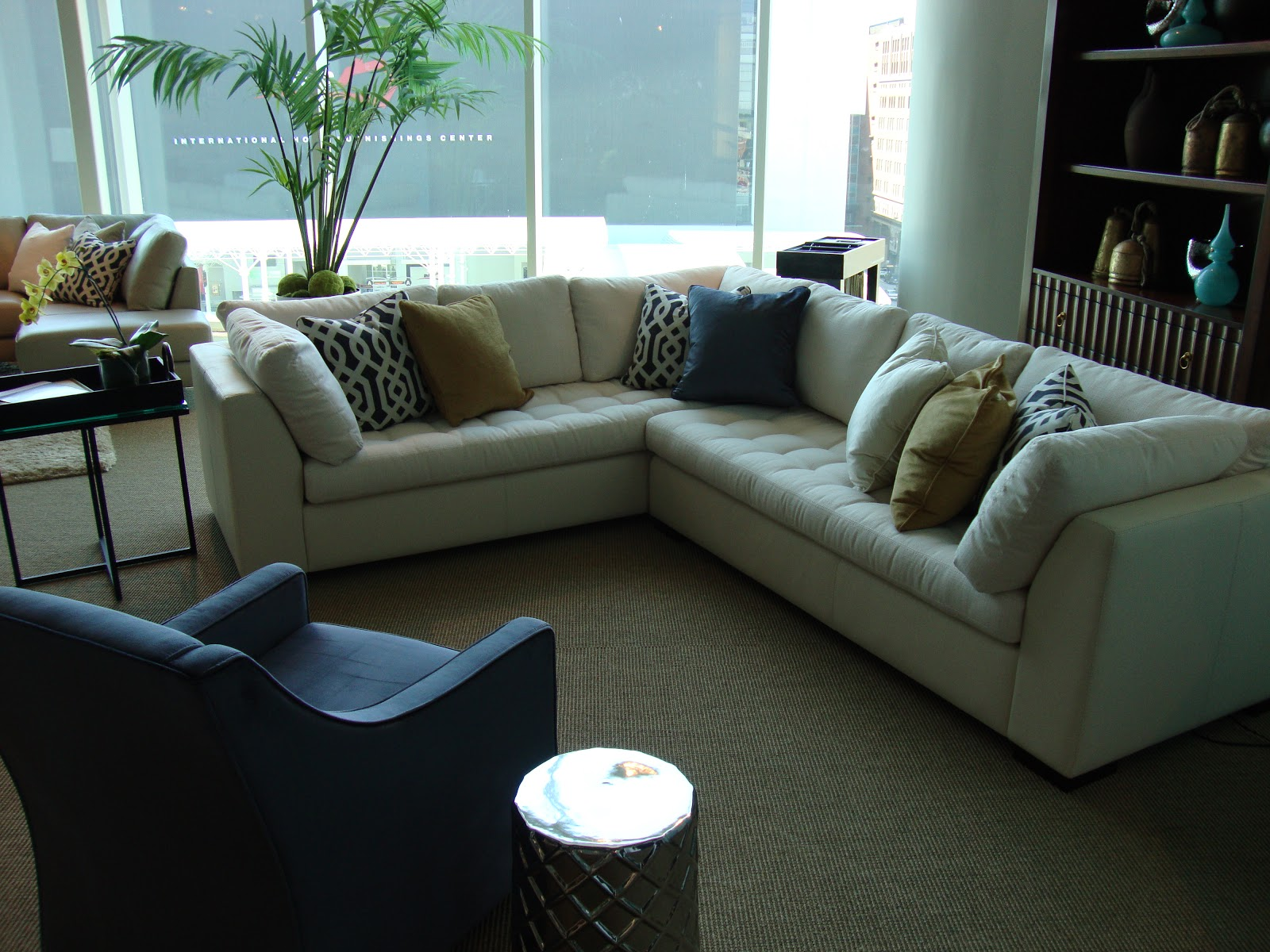 A one-armed sofa with a return a simple sectional from our Astoria Park collection. : crypton sectional sofa - Sectionals, Sofas & Couches
