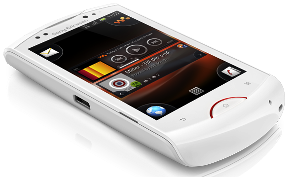 sony ericsson live walkman android phone.png