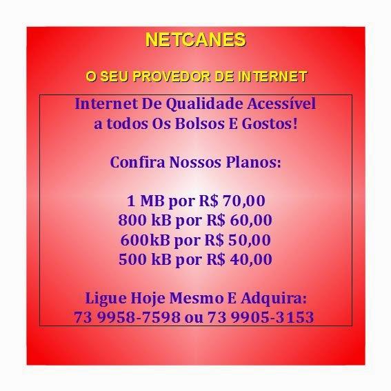 PROVEDOR DE INTERNET TEM NOME