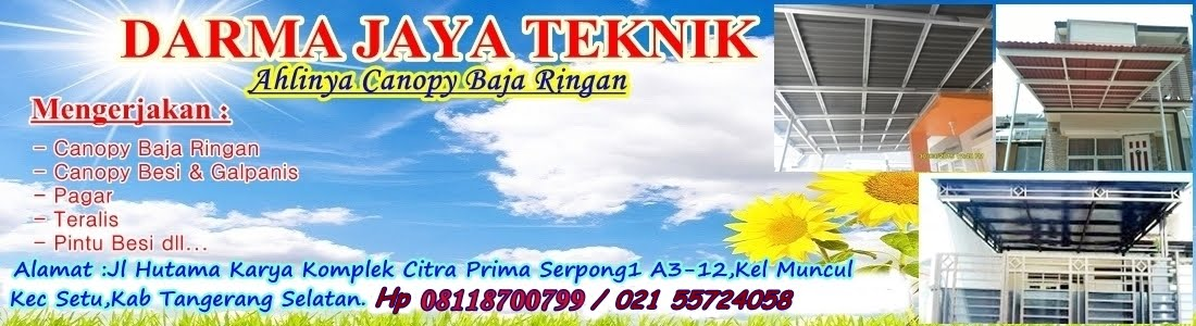 Jasa Pasang Kanopi|Teralis Jendela Tangerang|08118700799