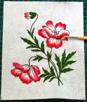 O básico em pintura de tecido