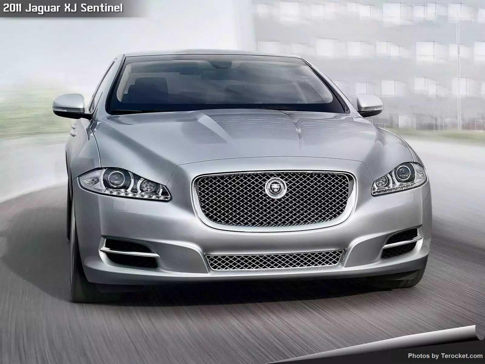 Hình ảnh xe ô tô Jaguar XJ Sentinel 2011 & nội ngoại thất
