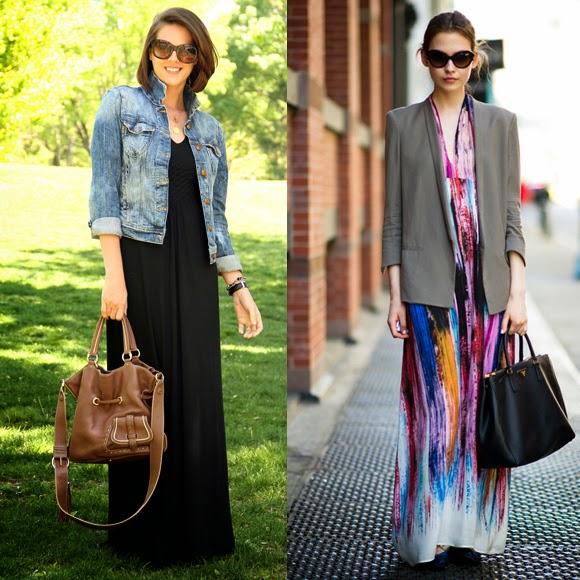 vestidos longos para o trabalho - fotos e dicas
