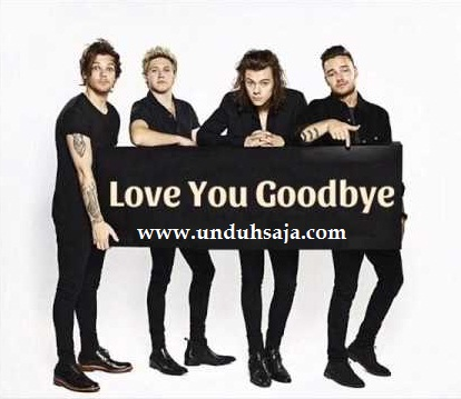 one direction love you goodbye